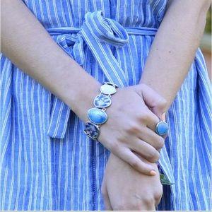 C+I Waterlily Bracelet B354BLAR